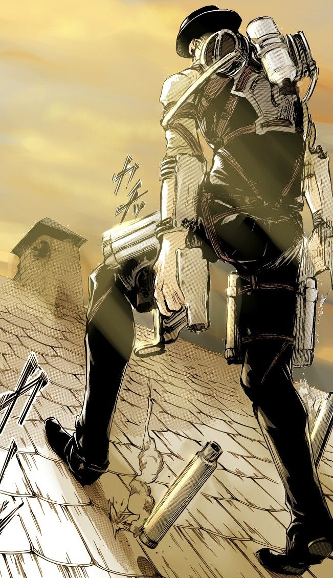 Kenny Ackerman Attack On Titan Shingeki No Kyojin Attack On