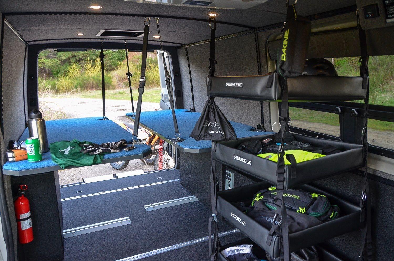 Hang Stretcher Beds Day Vans Amp Campers Van Camping