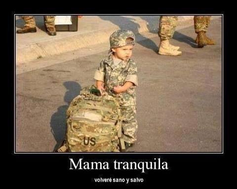 No te preocupes Madre, regresaré…
