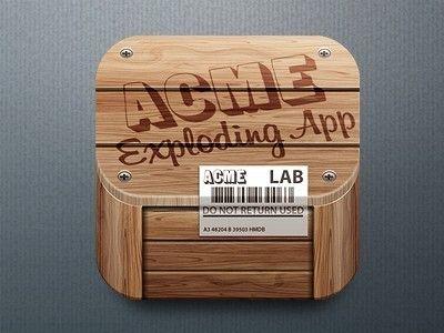 «Acme Exploding» by Hein Mevissen Acme, App, Hd icons