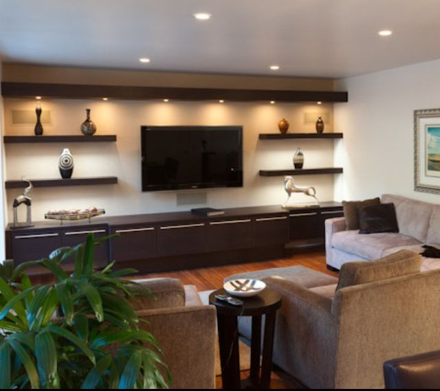 Tv Room Design Ideas: Basement Family Room