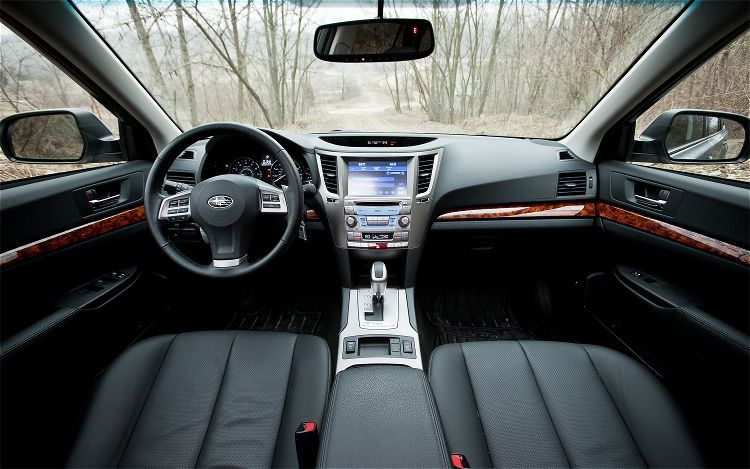 Close Your Eyes And Just Imagine 2012 Subaru Outback Interior