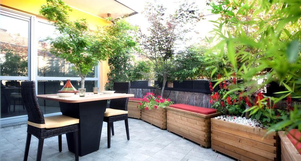 Un terrazzo in stile giapponese | arredamento | Pinterest | Terrazzo