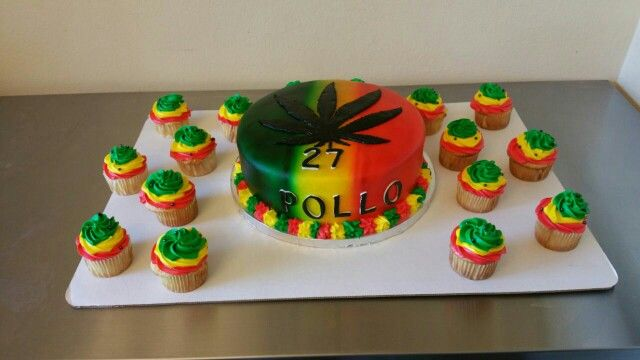 Bob Marley cake DDs Cakes Desserts Pinterest Bob marley