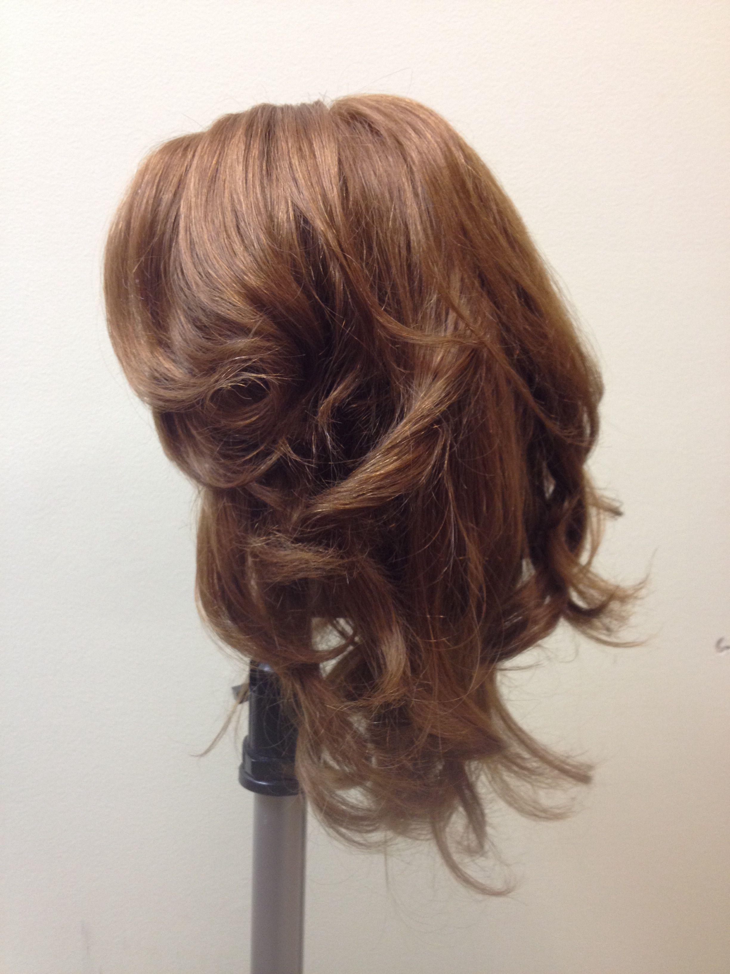 Roller Round Brush 1 Long Hair Styles Hair Styles Hair