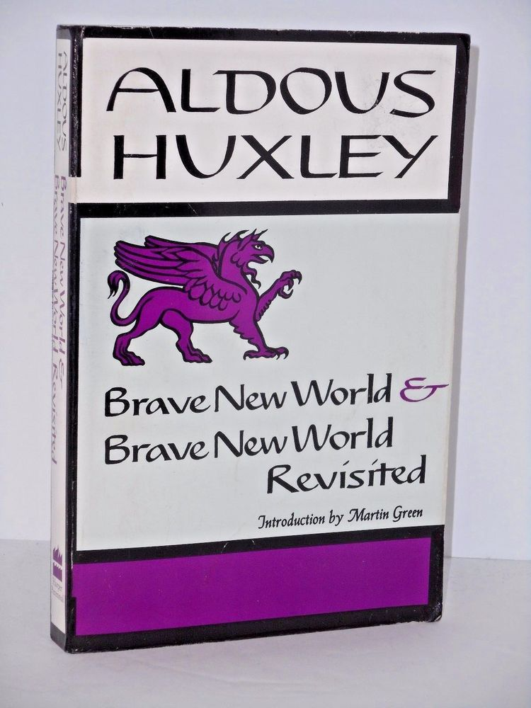 an overview of the construction of brave new world novel by aldous huxley Tucson, ariz, march 14, 2016 /prnewswire-usnewswire/ -- recalling aldous huxley's 1932 novel brave new world, where the totalitarian government kept citizens happy with a drug called soma.