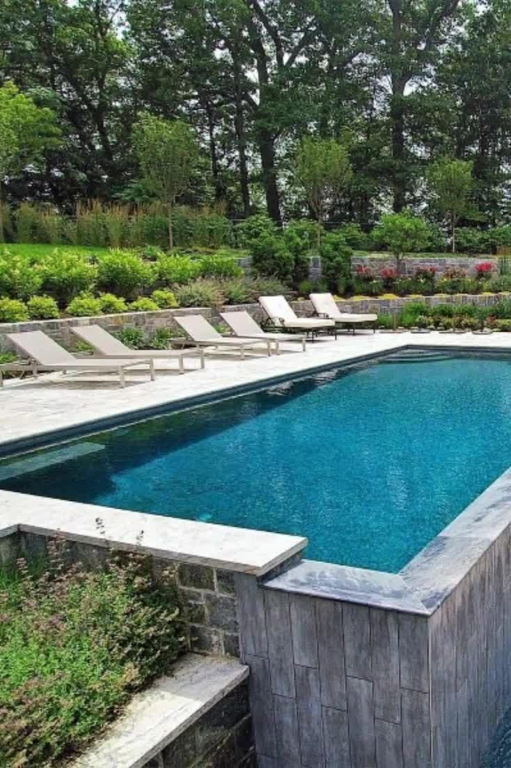 Top 40 Best Pool Landscaping Ideas - Aesthetic Out