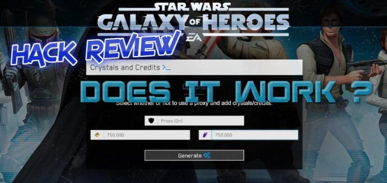 Star Wars Galaxy of Heroes Hack 2018 September - Android