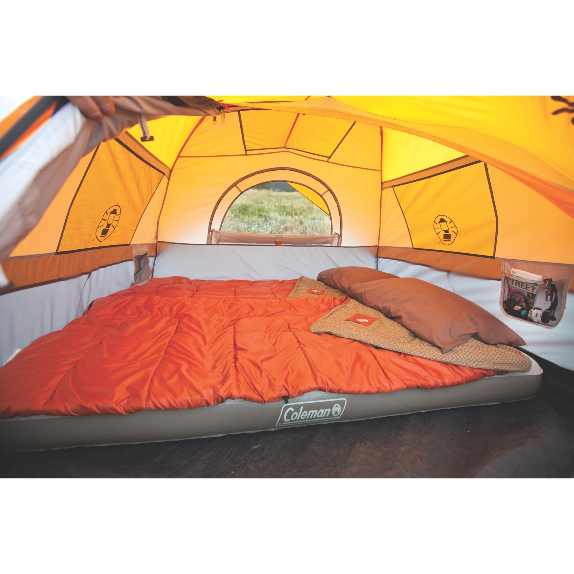 Make c&ing easier with the Coleman® Signature 7-Person Instant Dome™ Tent.  sc 1 st  Pinterest & Make camping easier with the Coleman® Signature 7-Person Instant ...