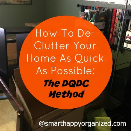 How To De Clutter Your Home As Quick As Possible   Clutter  Stuffing     De Clutter your home quickly with this method