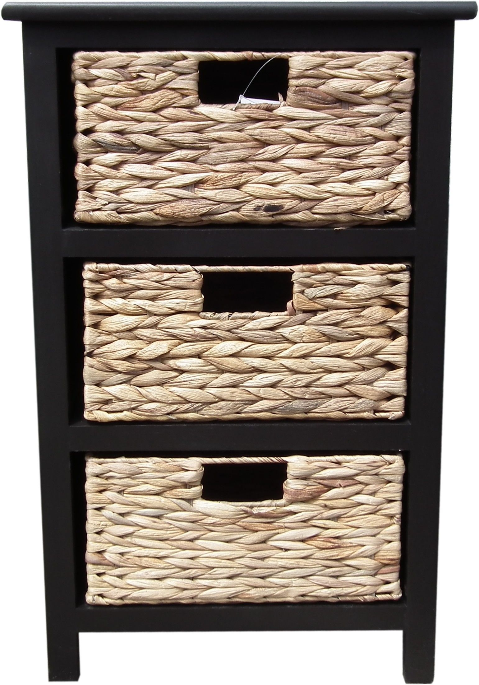 Superieur 3 Drawer Wicker Storage Chest