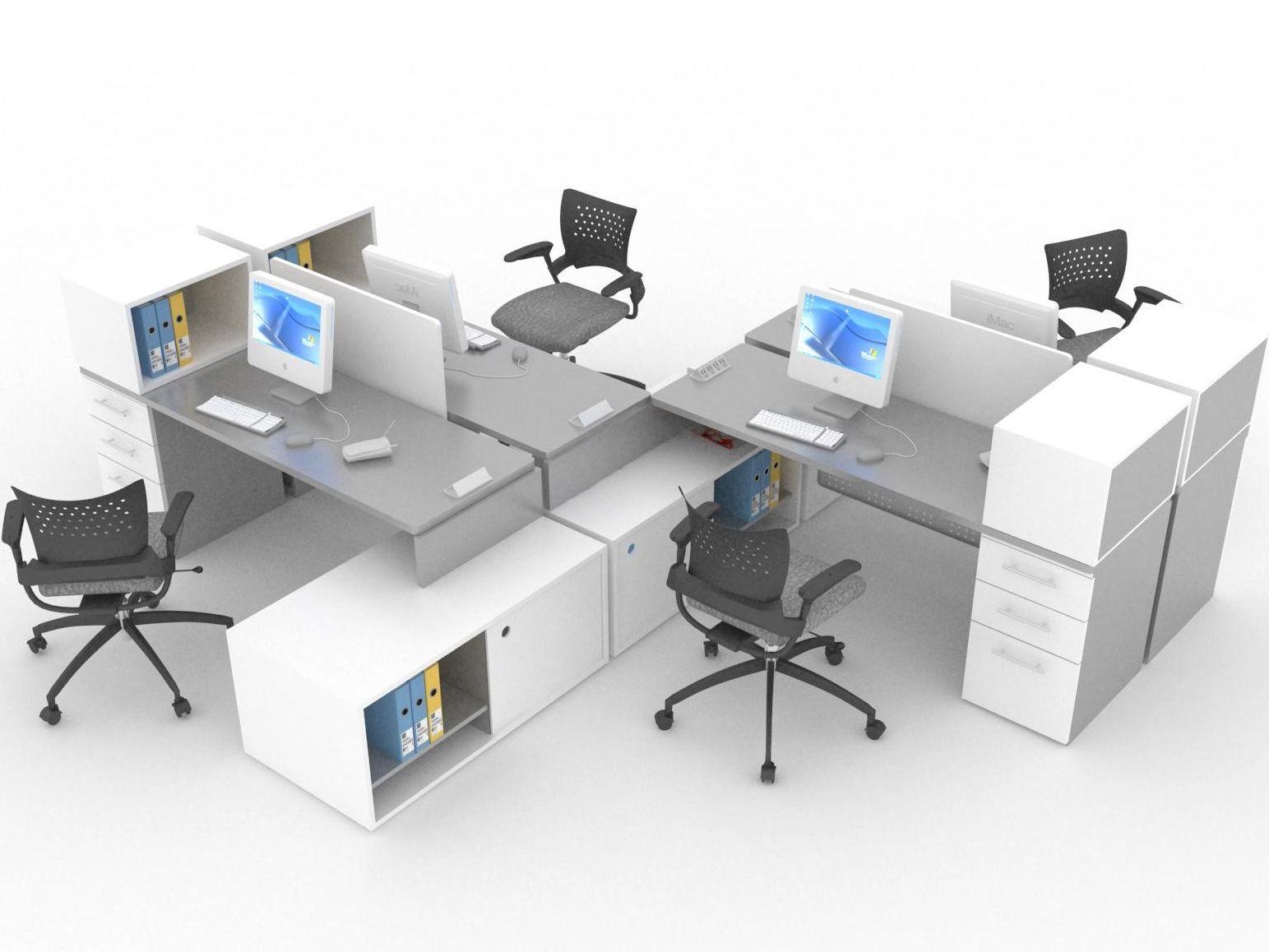 sistemas modulares para oficina l nea cubo muebles