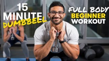 15-Minute Dumbbell Workout for All Levels #dumbbellworkout