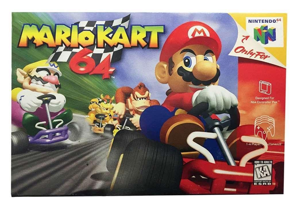 Amazon com: Mario Kart 64: Video Games | @giftryapp | Danny | Mario