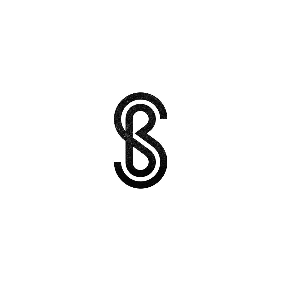 Sb Monogram Letter Logo Design Sb Logo Monogram Logo Design