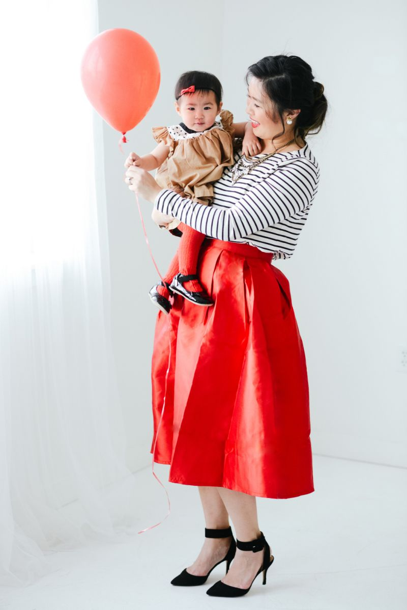 Mommy and Me Dressy Valentine's Day Outfit   mommy + me outfit ...