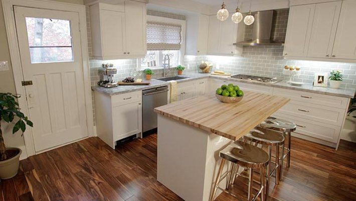 Property brothers francesca and parker renovation was for Property brothers kitchen remodels