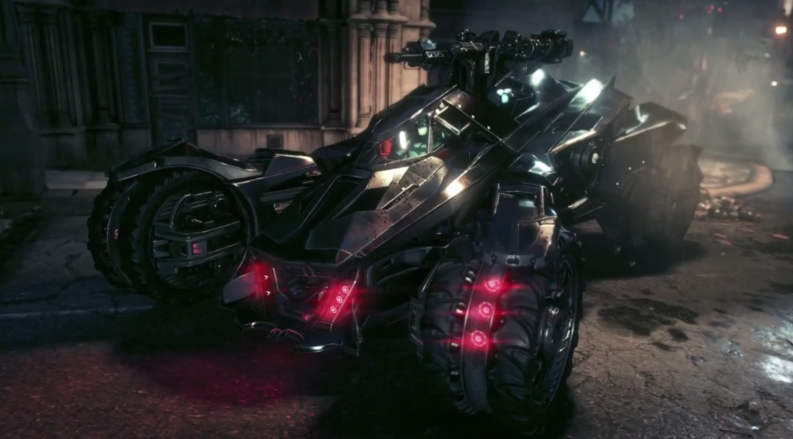 Latest Batmobile Shown Ahead Of 2015 Batman Arkham Knight Launch