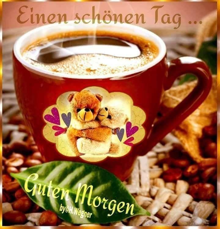 Guten Morgen Kuss Für Facebook | Смешные открытки, Доброе