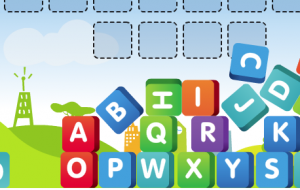 Alphabetical order for SMARTBoard or home computer (recommended for