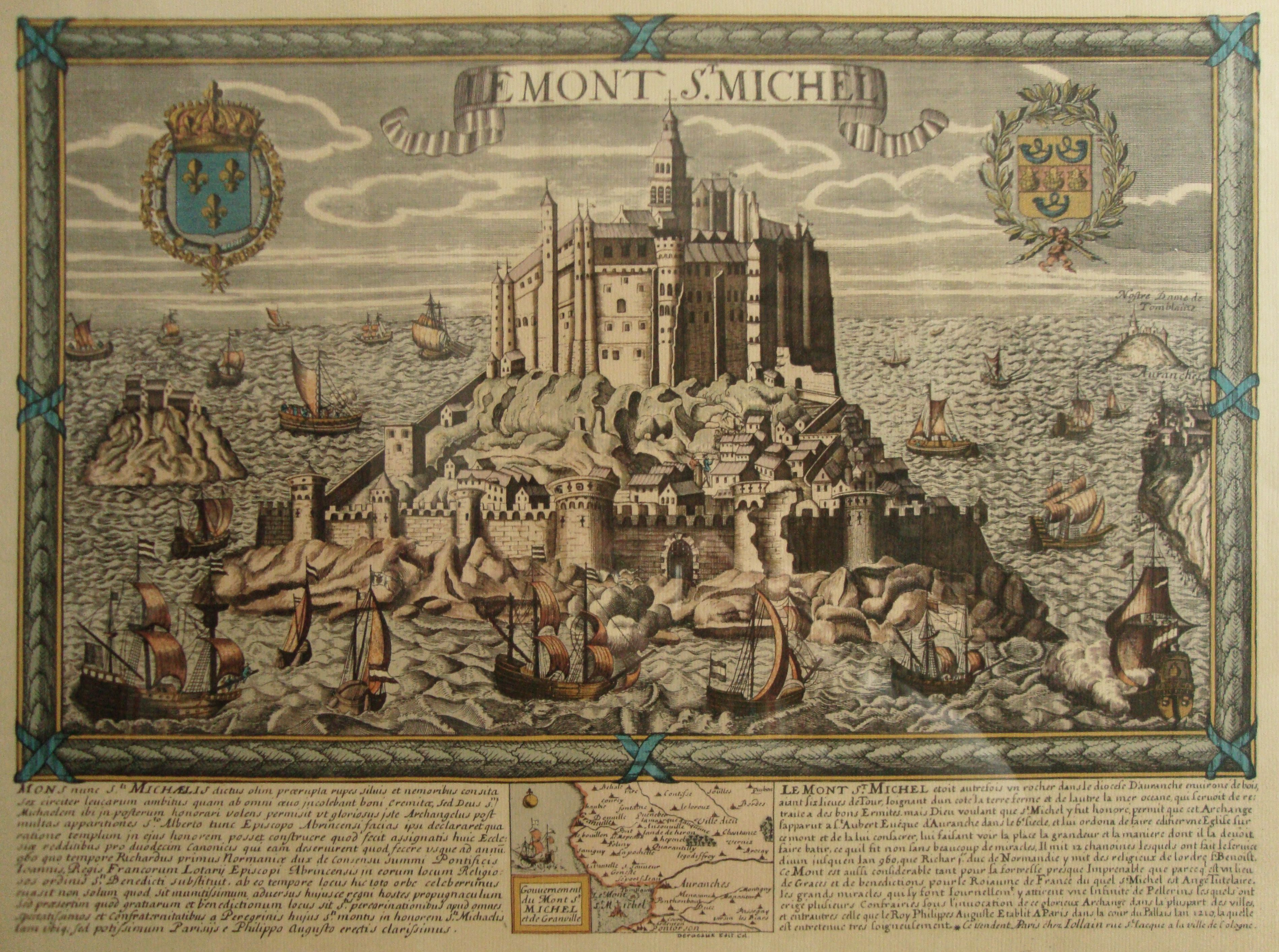 copy free image of mont st michel