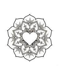 Image result for mandala inside heart tattoo