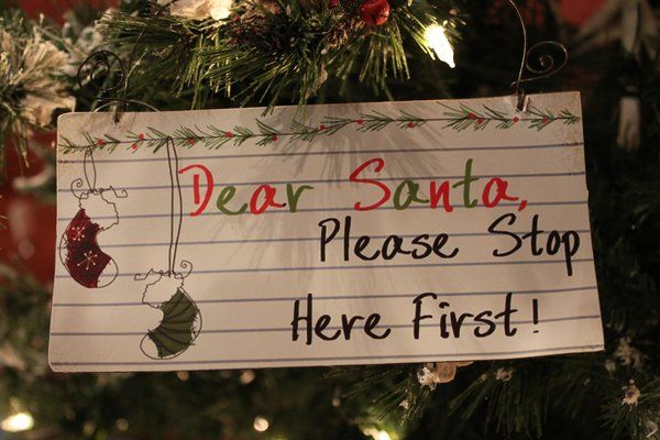 Dear Santa Signs $4.99, NEW FOR 2015, SHOP www.exclusivelychristmas.com