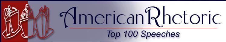 American Rhetoric: Top 100 Speeches of the 20th Century by Decade #famousspeeches American Rhetoric: Top 100 Speeches of the 20th Century by Decade #famousspeeches