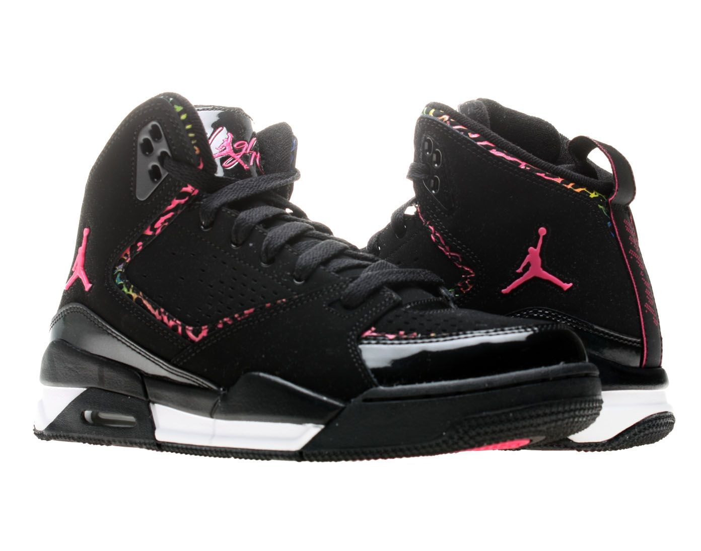 1b1eb319b6bd1c Nike Air Jordan SC-2 (GS) Girls Basketball Shoes  459856-009 ...