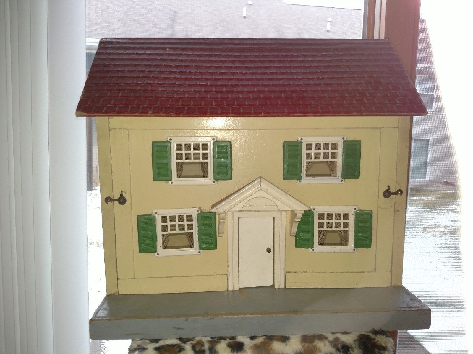 Schoenhut Doll House Full Of Furniture Antique From Susan Manos Collection  | EBay