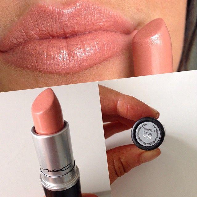 Favoriete $17.00 Mac Creamsheen Lipstick (Shy Girl) #mac #lipstick #under20 &KD81