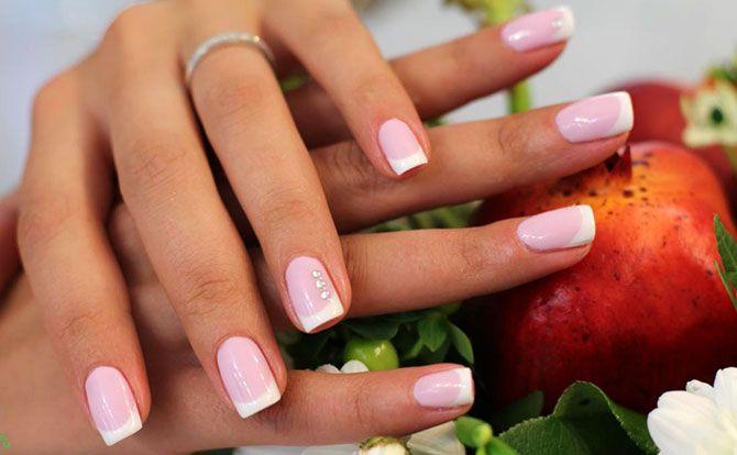 Шеллак — френч на короткие ногти, фото + видео | Ногти, Короткие ...Какой маникюр нравится мужчинам