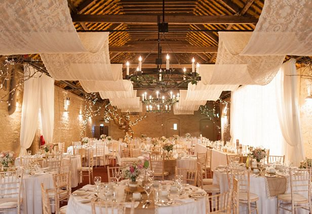The Larchfield Barn Interior Shot