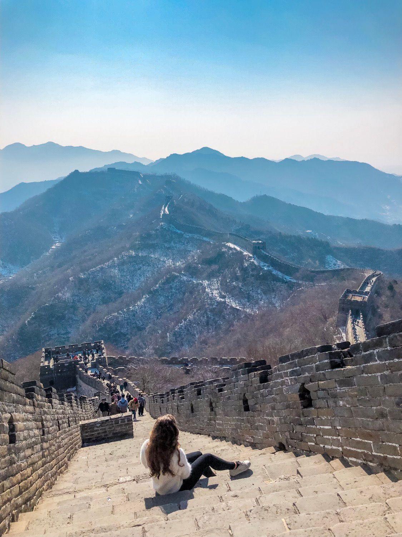 China Stopover In Peking Ein Besuch Der Chinesischen Mauer Chinesische Mauer Peking Vietnam Reise