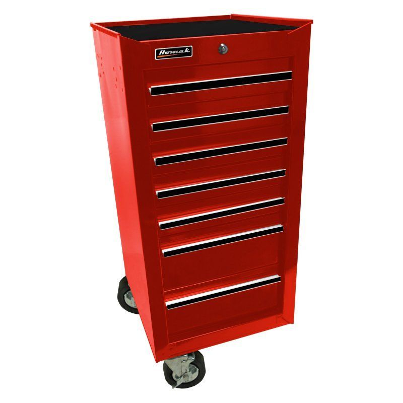 Homak Side Add-On with 7 Drawers -