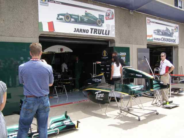 2010 Canadian GP Pit Lane (Photo by: Jose Romero Lopez)