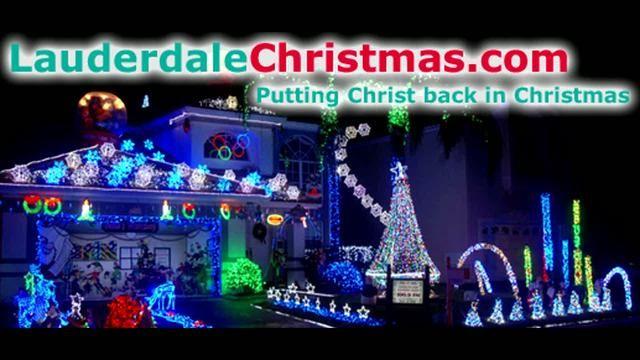 Our 64 000 Led 2009 Christmas Lights Display Dances To Carol Of