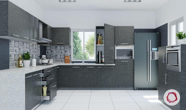 12 Grey Kitchens That Are Drop Dead Gorgeous Modern Kitchen