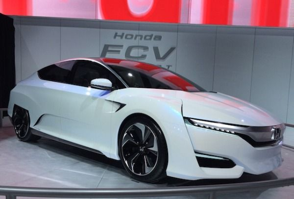 Honda Fcev Concept Fcv Concept Brings On The Fuel Cell Love