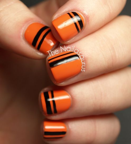 25 Spooky & Simple Halloween Nail Art Ideas - 25 Spooky & Simple Halloween Nail Art Ideas Black And Nail Nail