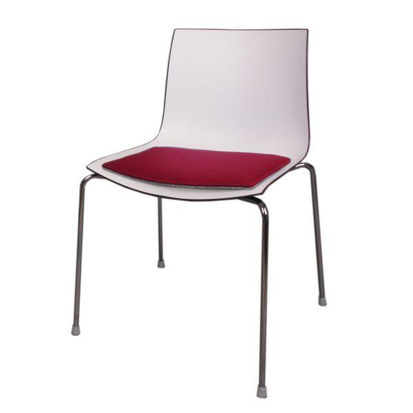 Filz Sitzkissen geeignet für Arper Catifa 46