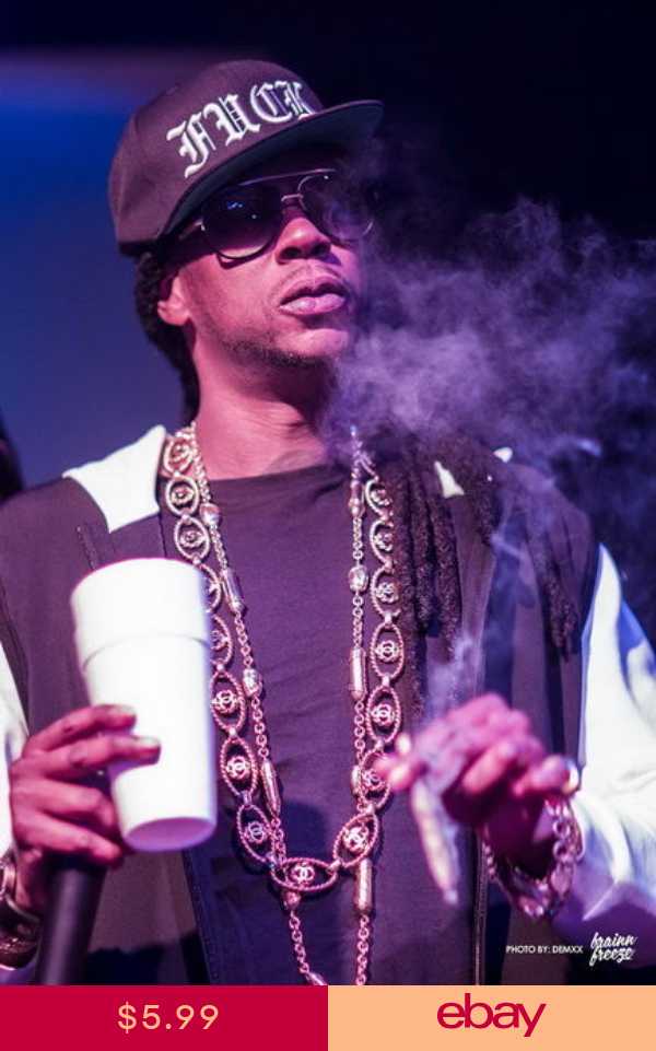002 2 Chainz Tauheed Epps Hip Hop Recording Artist 14x21 Poster American Rappers 2 Chainz Rapper