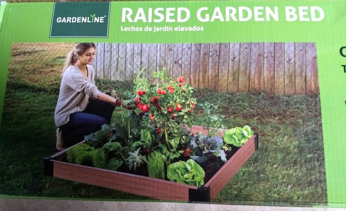 Gardenline Raised Garden Bed Raised garden beds, Raised