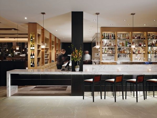 Chef Ken Frank S Michelin Star La Toque Restaurant Is Located In Downtown Napa At The New Verasa Westin Hotel At The Entry A 20 Foot S Napa Restaurants Restaurant Interior Design Restaurant