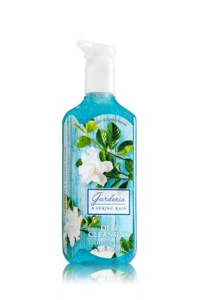 Gardenia Spring Rain Deep Cleansing Hand Soap Soap Sanitizer