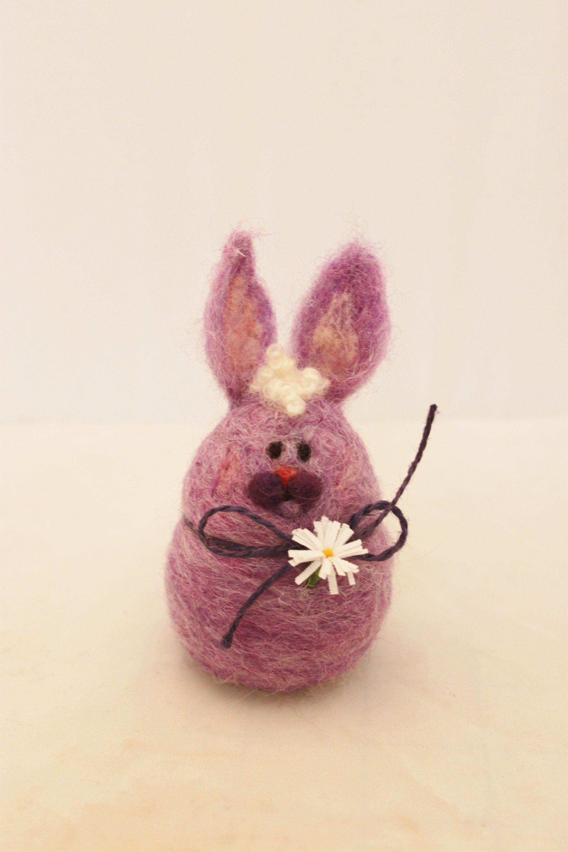 Easter Bunny, Rabbit, Needle Felted Bunny, Easter Basket Decoration,Easter Decoration, Hare #4242 #needlefeltedbunny