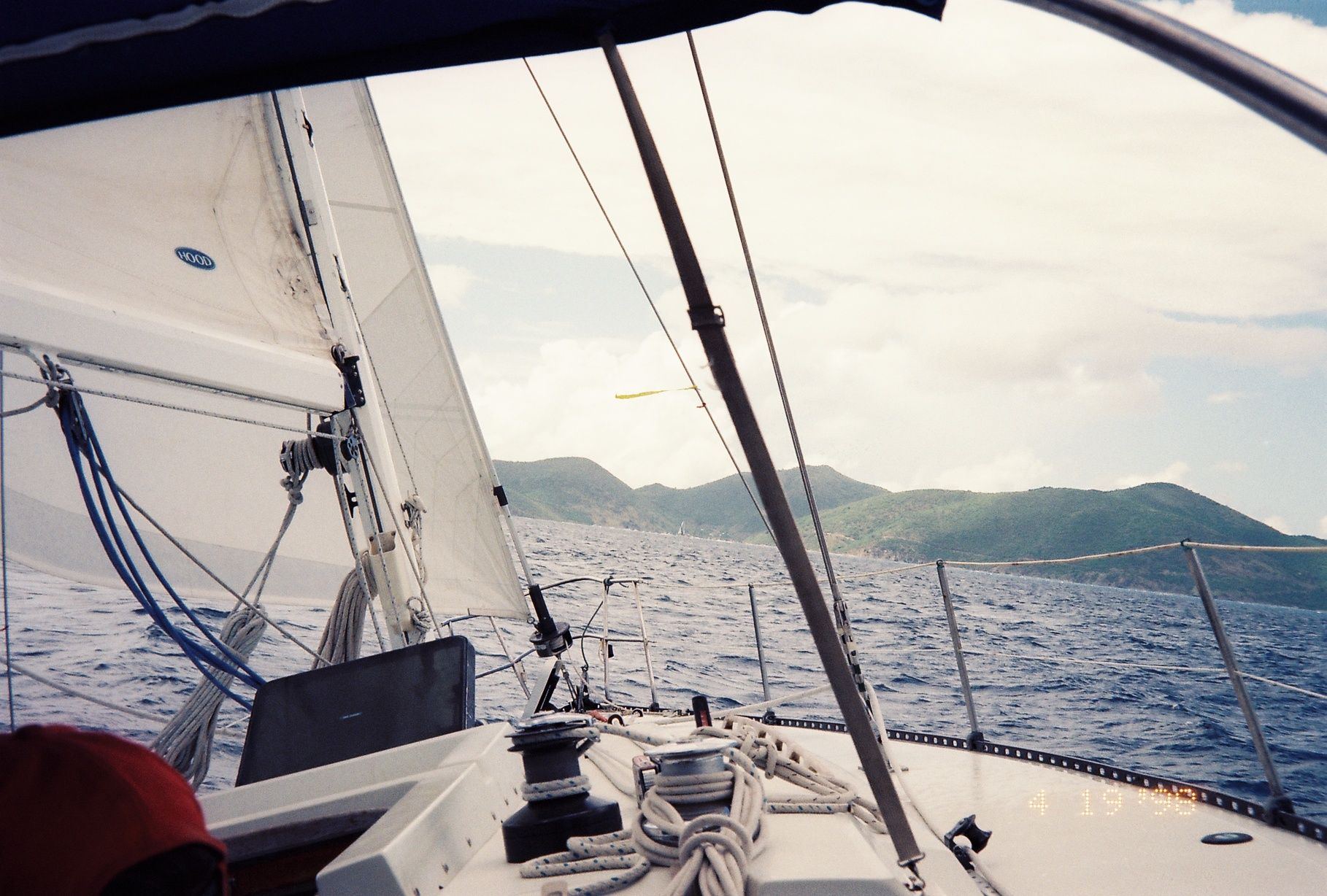 On my visit to the bvi we got a lot of great sailing done