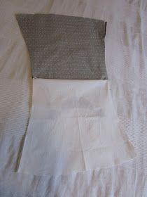 Ensimmäiset palat Muijaa leikelty, ja mekkohan siitä sukeutui.         Ja kun kerran niin uhkailin, ohjekin tulee tässä samalla. Mekko on...