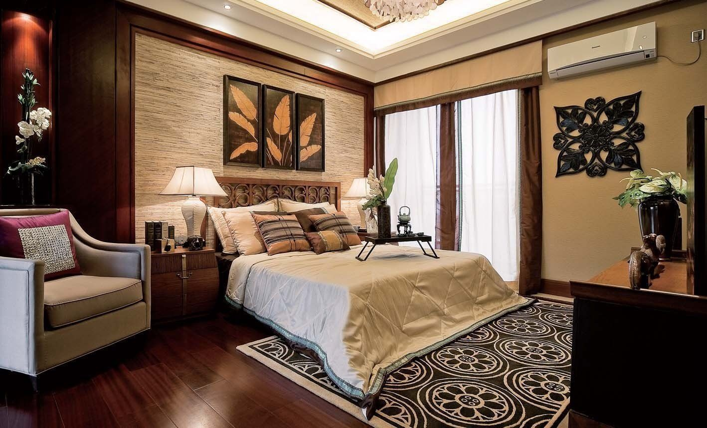 Modern traditional bedroom furniture - Traditional Meet Modern Master Bedroom Interior Decor With