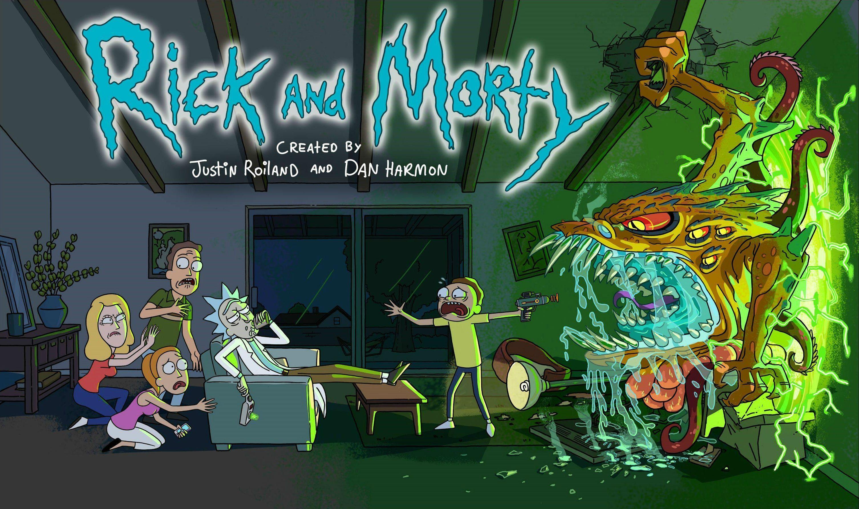 Rick And Morty Wallpaper For Desktop Rick, morty poster